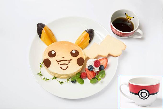 ピカチュウのあま〜いパンケーキ