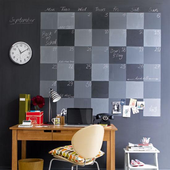 黒板塗料を使ったアイディア集
