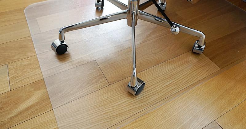 「ミツヨシ」Office Chair Springオフィスチェア スプリングのチェアマット写真
